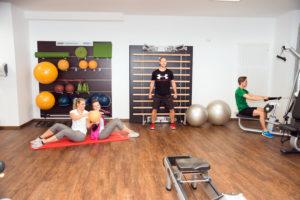 Ausschnitt vom Fitness-Center | Hotel Adler