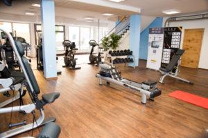 Ausschnitt vom Fitness-Center | Trainingsgeräte | Hotel Adler