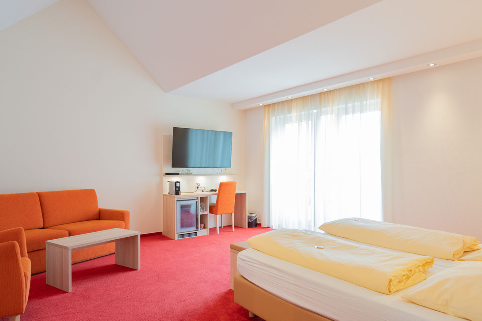 Doppelzimmer Superior Ansicht | Hotel Adler