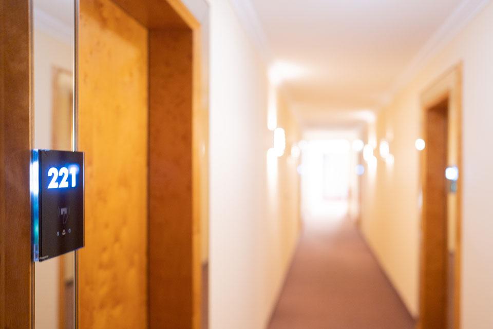 Flur im Hotel Adler in Ehingen