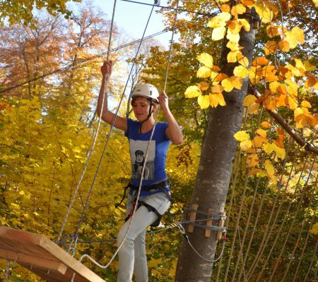 Hochseilgarten und Kletterwald in Biberach | Blogbeitrag | Hotel Adler