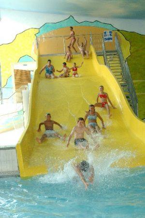 Gelbe Rutsche im Jordanbad | Blogbeitrag | Hotel Adler