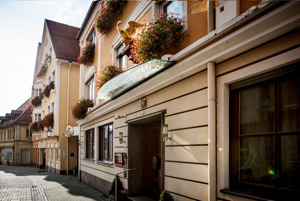 Hotel Adler in Ehingen | Restaurant Paulas Alb | Außenansicht